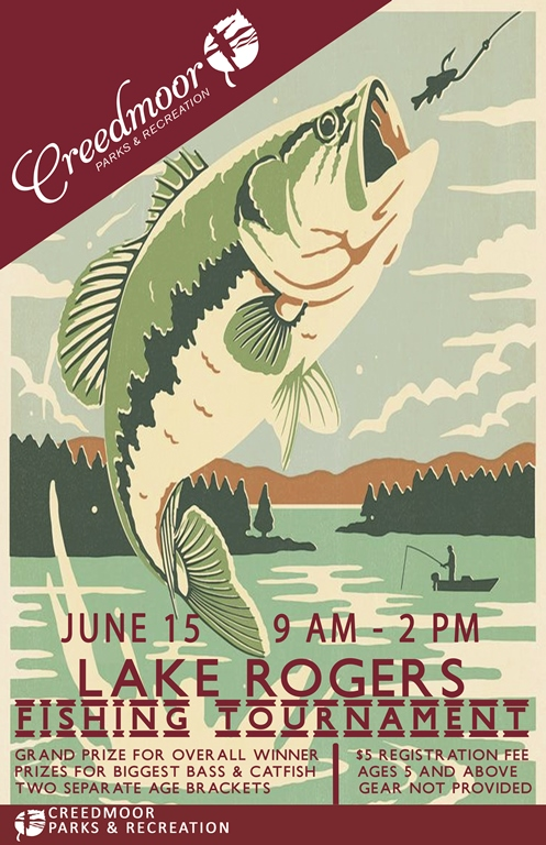 Fishing Tournament Poster