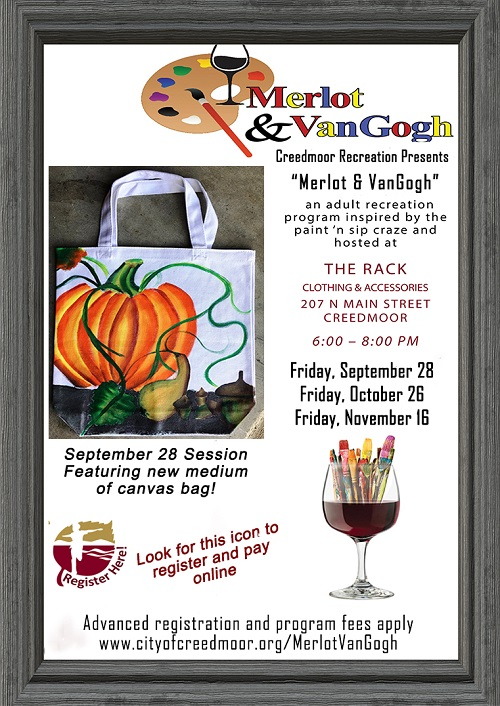 Merlot and VanGogh to Feature Canvas Tote Bag