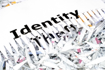 Identity Theft shredder