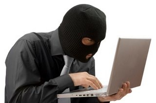 Criminal with Laptop