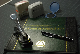 Notary Public Materials
