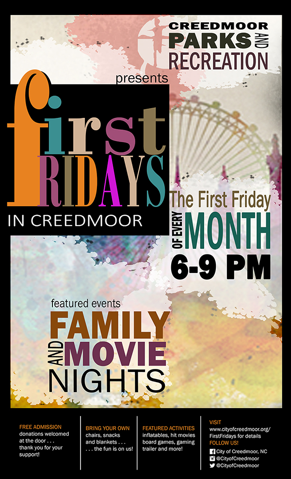 First Fridays in Creedmoor Poster