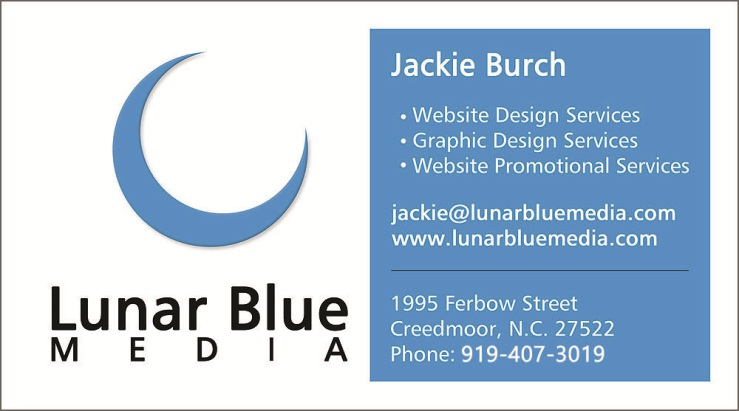 Lunar Blue Media Business Card