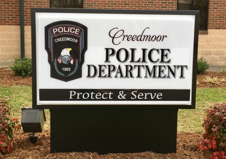 CreedmoorPD_Sign_2016