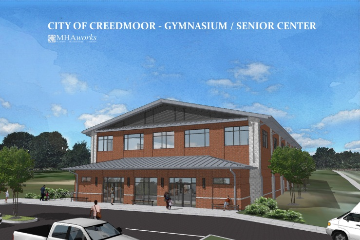 Community Center Construction Underway