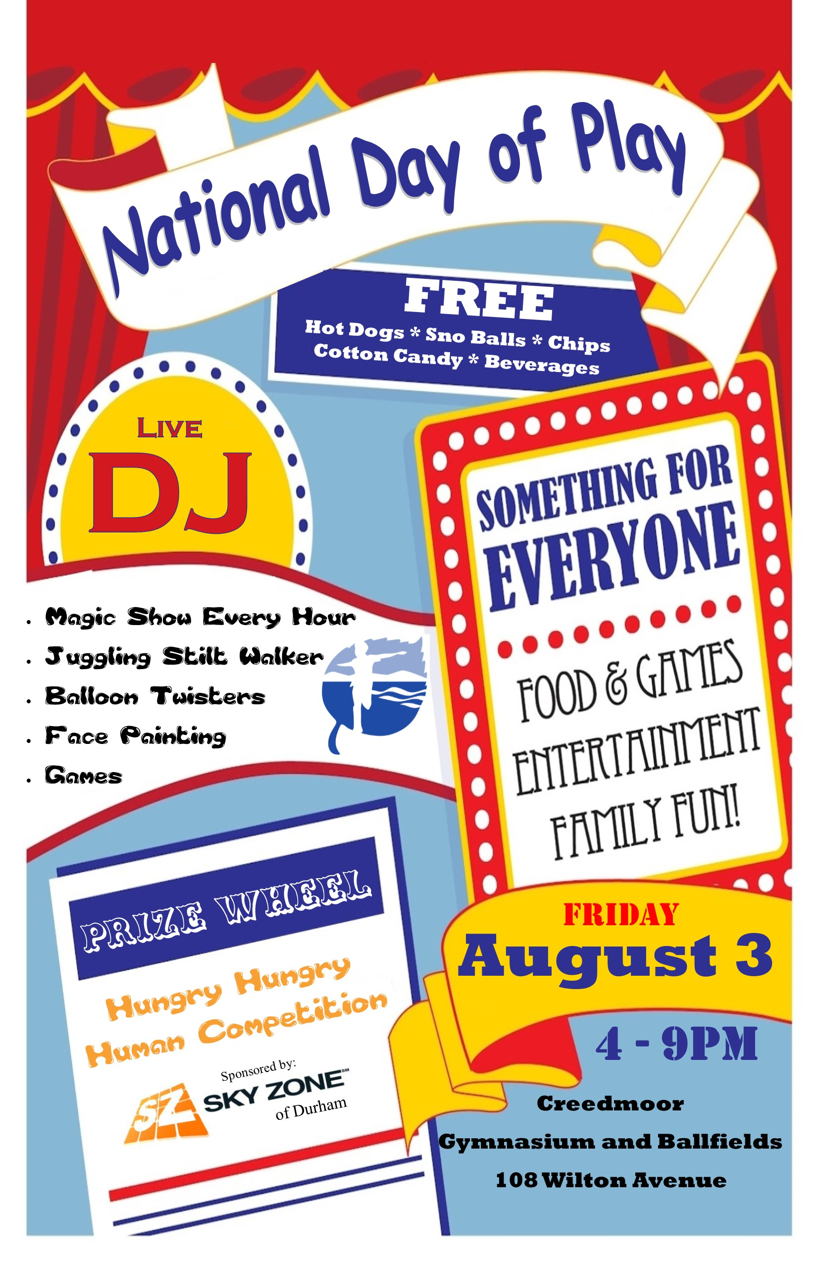 First Fridays in Creedmoor // National Day of Play