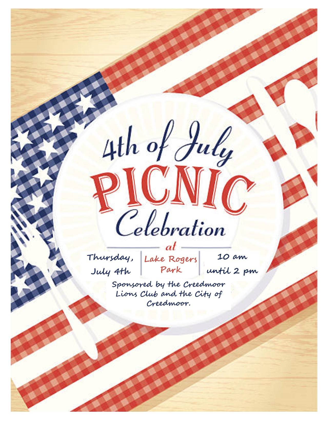 Fourth of July Picnic 2019