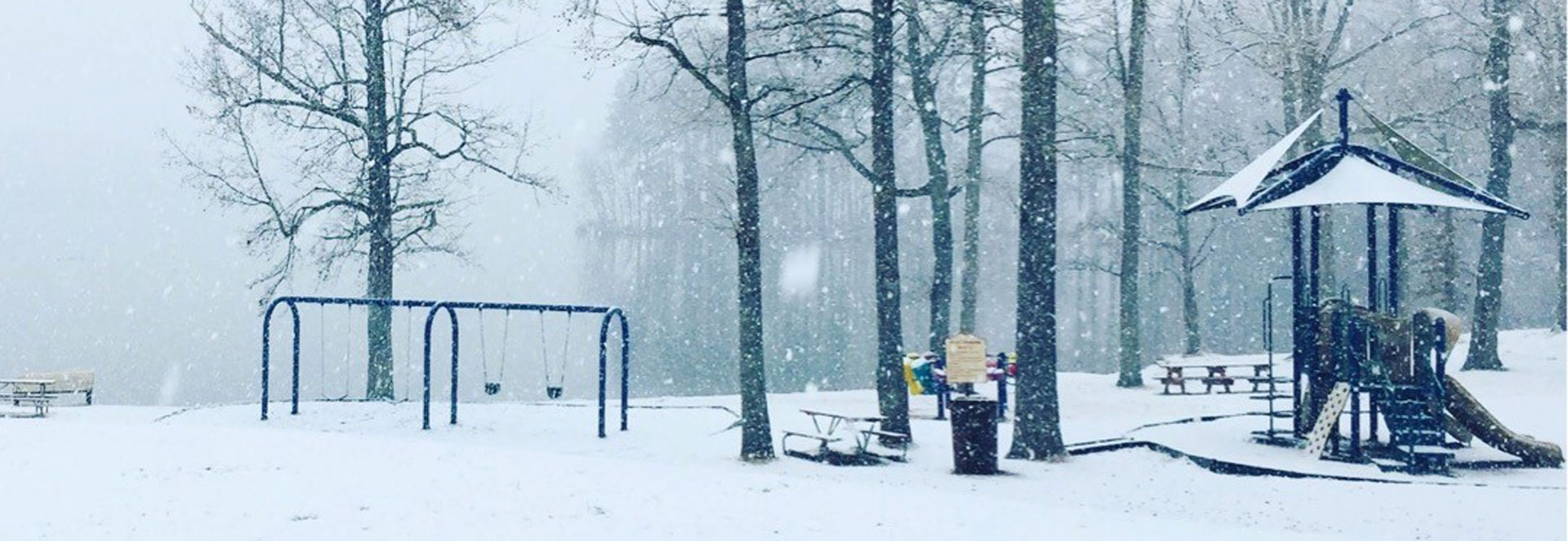 Lake Rogers Snowy Playground