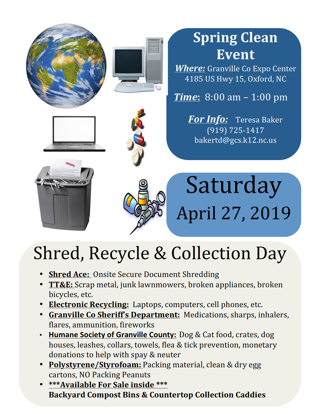 Shred & Recycle Event | Event List View (For Meeting) | City