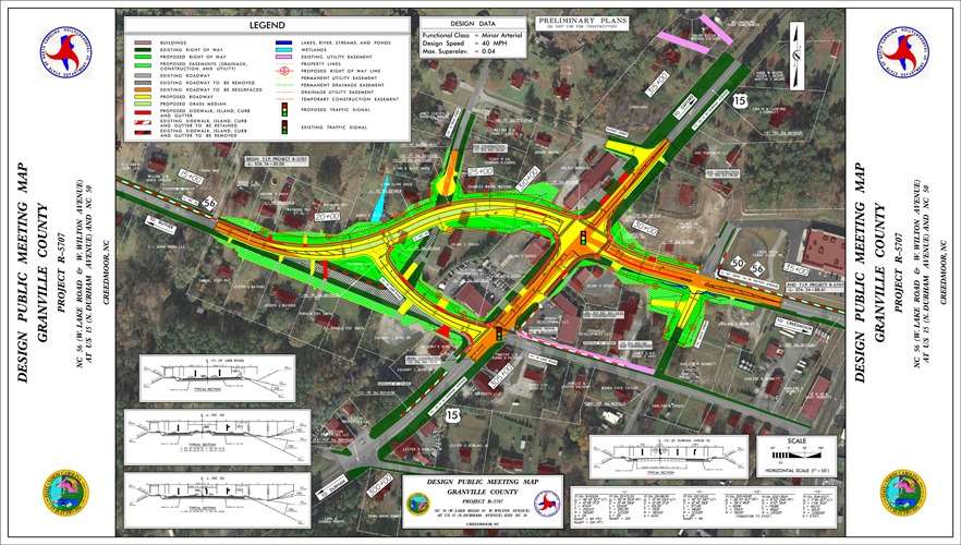 NC DOT Begins Realignment of NC-56 (Project R-5707)