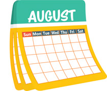 August Events and Activities