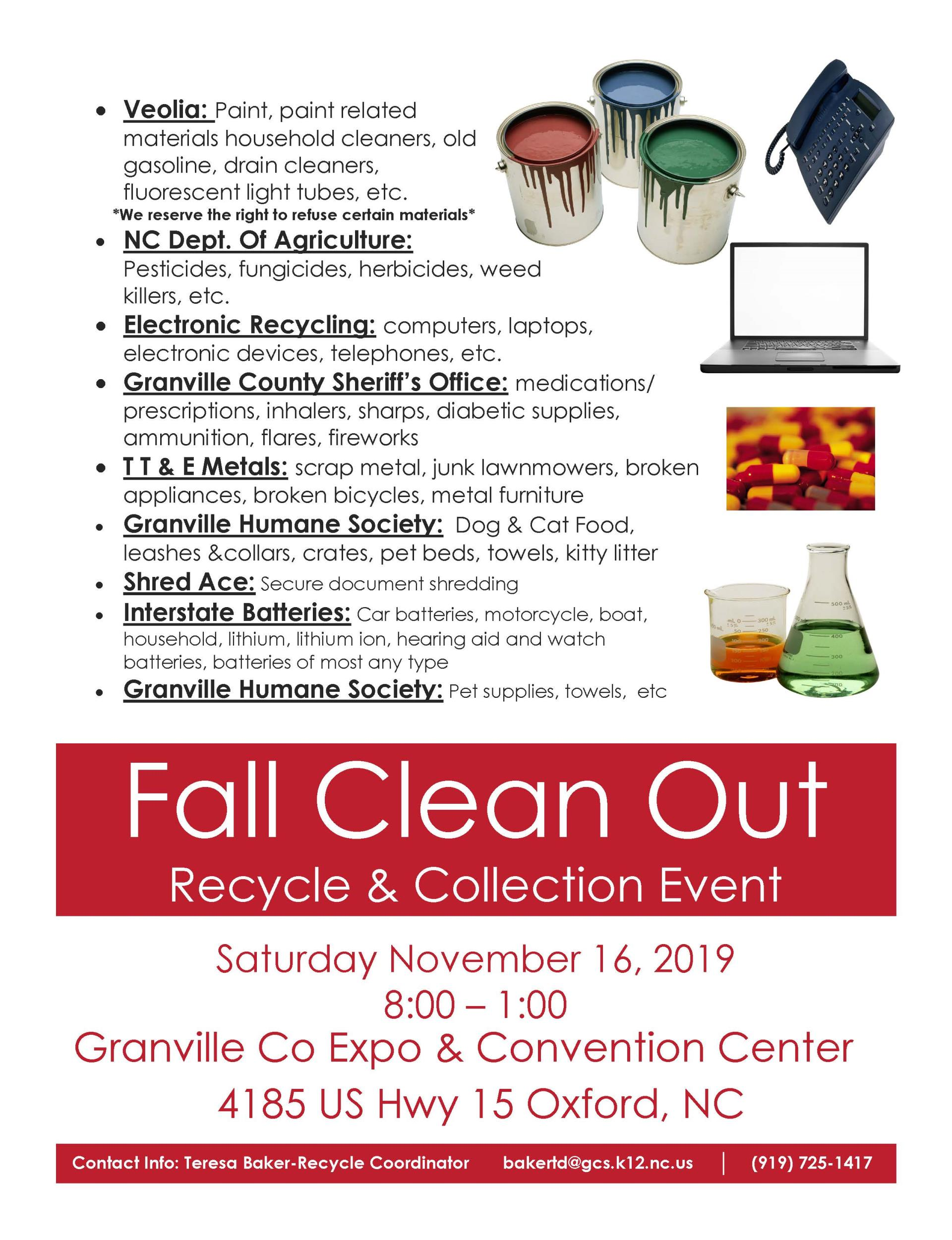 Granville County Clean Out