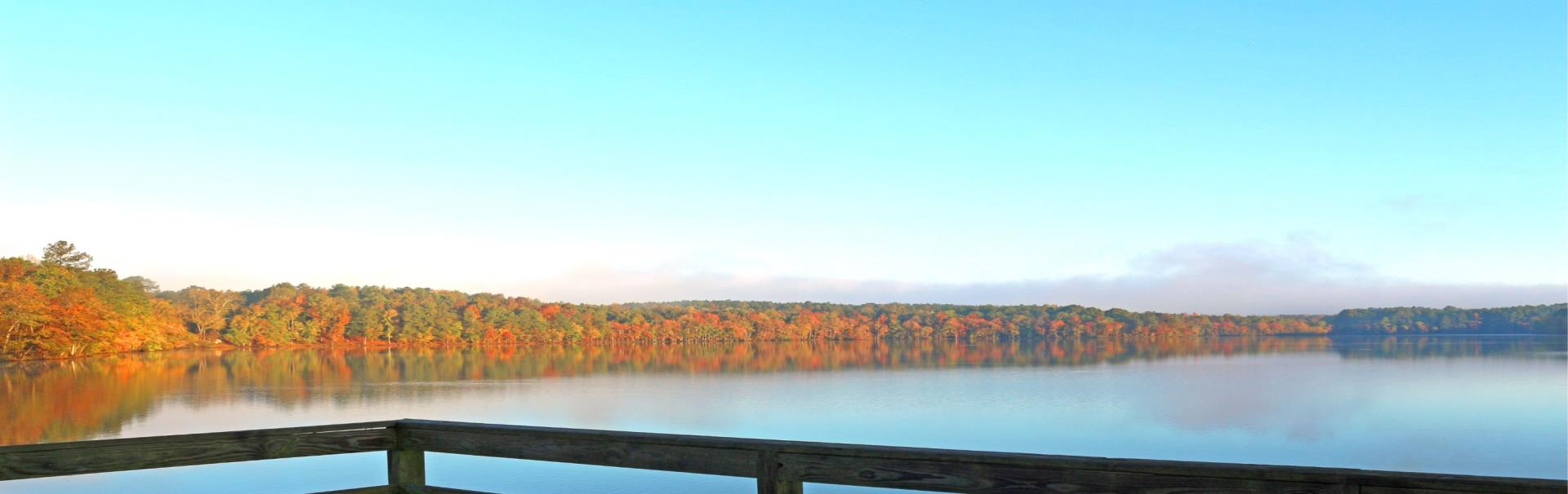 Fall on Lake Rogers